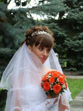 Свадебная причёска и макияж 600 грн.