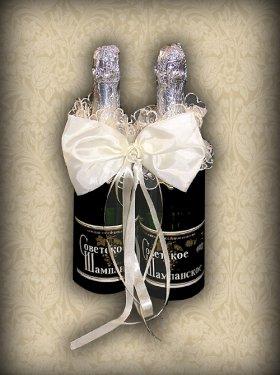 Украшение на шампанское, 100 грн.