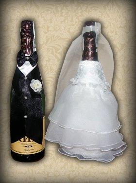 Украшение на шампанское, 200 грн.