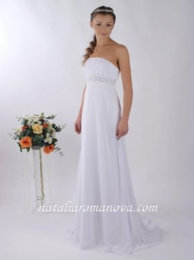 Красотка (код010) Продажа- 5000 грн. Прокат 2500 грн. Платье в греческом стиле. Размер 42-44. Белый цвет.