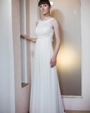 Свадебное платье Афродита. прокат-3500 грн.,продажа-5000грн. Материал: шифон. Размер 42, 44, 46, 48, 50. Цвет белый, кремовый.