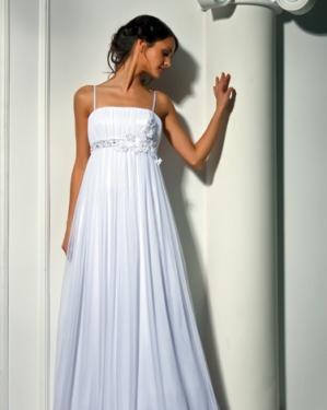 Свадебное платье Сесилия в греческом стиле. прокат-2500 грн., продажа-4000грн. Материал: шифон, элегантная драпировка на груди, цвет: белый, шампань, крем.  Размер 40, 42, 44, 46, 48, 50, 52.