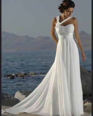 Свадебное платье Венера в греческом стиле 5000 грн. Прокат 2500 грн. Материал: шифон, элегантная драпировка на груди, цвет: белый, шампань, крем.  Размер 40, 42, 44, 46, 48, 50, 52.