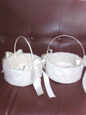 Свадебные корзинки для лепестков роз, конфет, пшеницы. 250 грн.