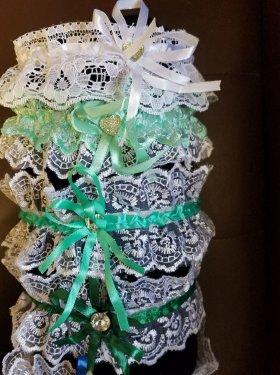 Подвязки на ножку невесты 100 грн