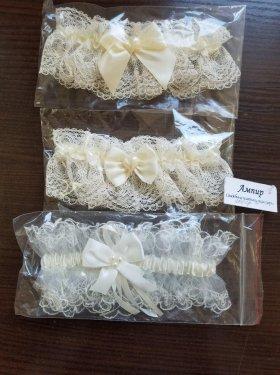 Подвязки на ножку невесты 200 грн