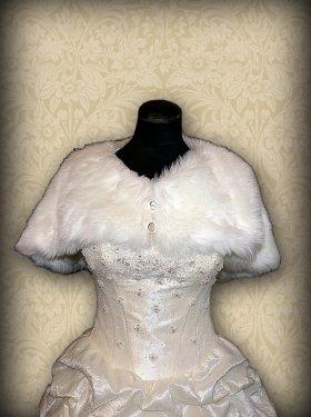 Свадебая накидка, айвори, 250 грн.