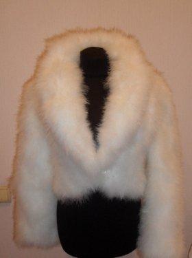 "Свадебная шубка ""Лебяжий пух"", Прокат 800 грн. Продажа 3000 грн."