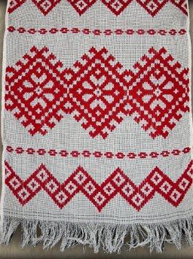 Свадебный рушник, ручная вышивка.