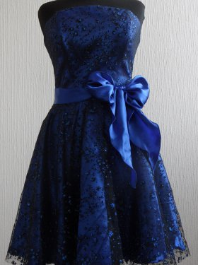Вечернее, выпускное платье 500 грн. Цвет синий, голубой, фиолет.