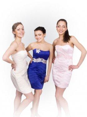 Вечерне платье продажа-500 грн.  Цвет синий, розовый, айвори.